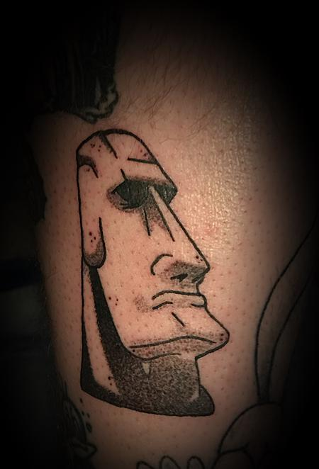 nick sadler - Easter Island head