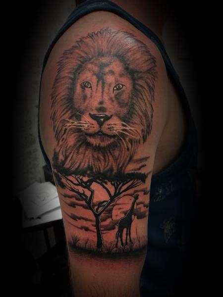 Tattoos - Lion  - 137571