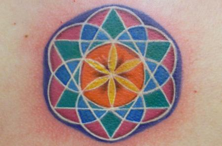 Tattoos - Colorful Geometry - 140954