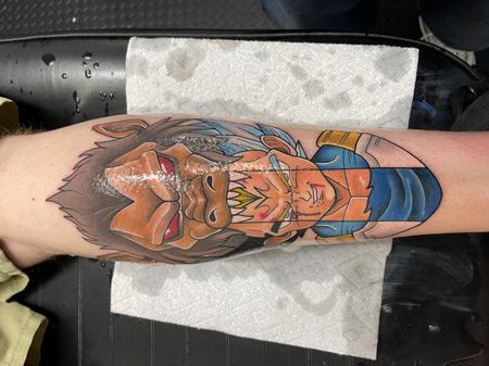 Tattoos - Vegeta  - 143303