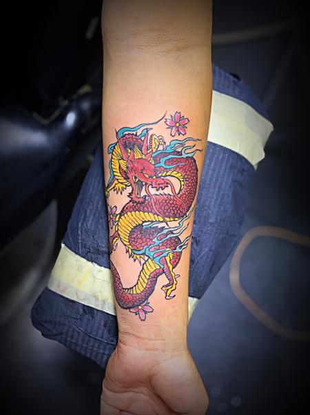 Tattoos - Dragon  - 140005