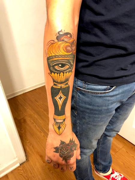 Tattoos - Torch - 142219