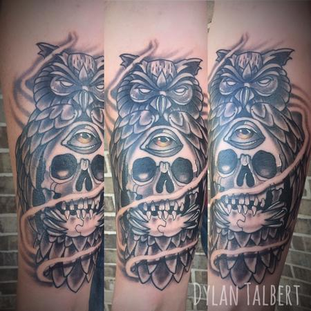 Tattoos - Owl - 130202