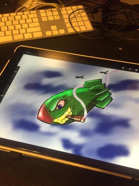 Tattoos - iPad bomb - 125117