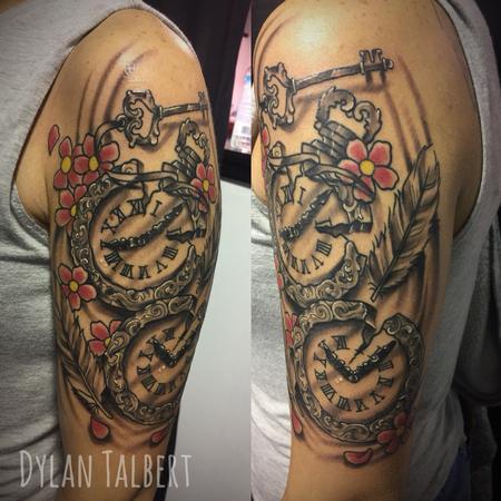 Tattoos - Clocks - 130406