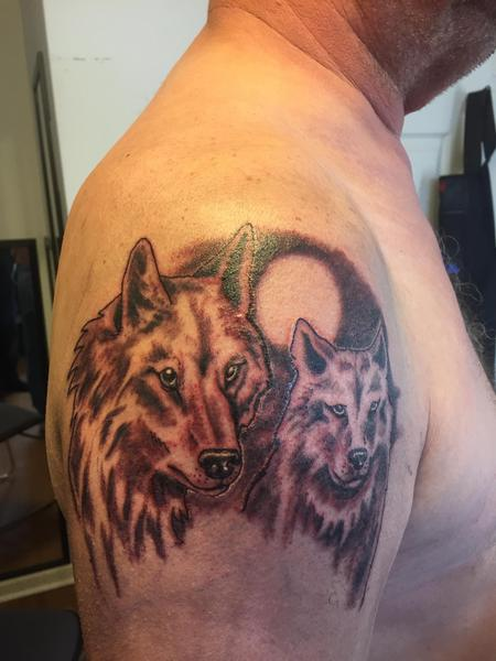 Tattoos - Wolves - 126654