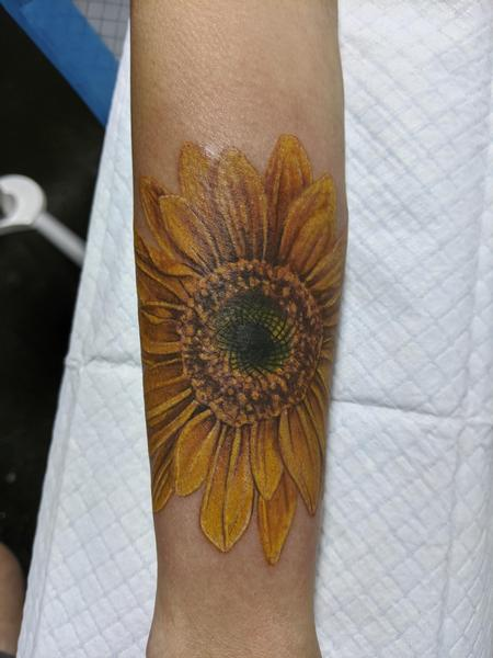 Tattoos - Sunflower - 142069