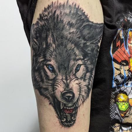 Tattoos - Wolf portrait - 142605