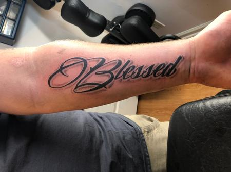 Tattoos - blessed - 134611