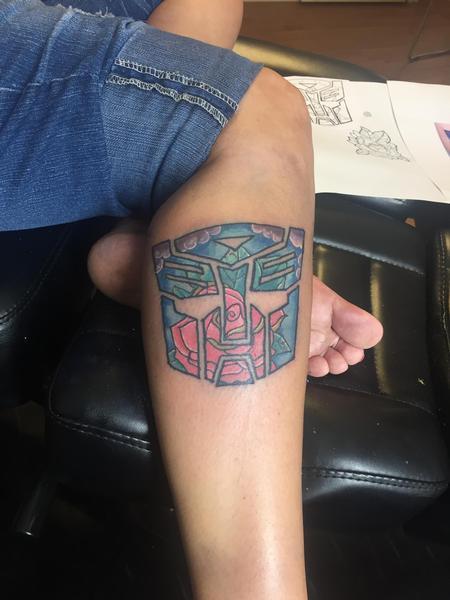 Tattoos - Transforming rose - 123025