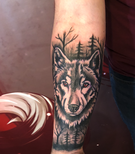 Tattoos - wolf trees - 138141