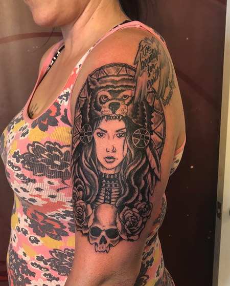 Tattoos - bear girl - 138956
