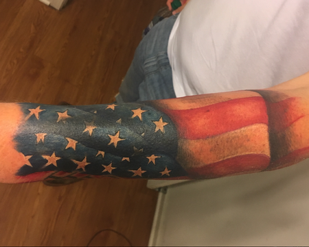 Tattoos - flag - 139488