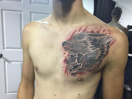 Tattoos - Wolf  - 106416