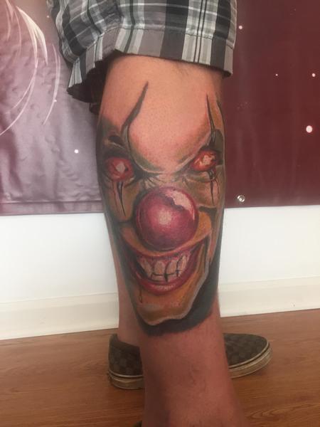 Tattoos - Clown - 120088