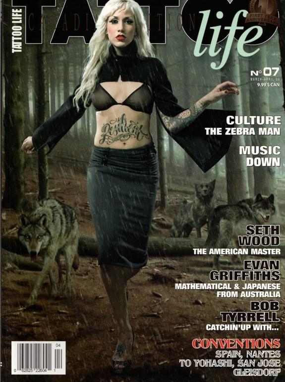 Tattoo Articles: Tattoo Life Canadian Edition #7