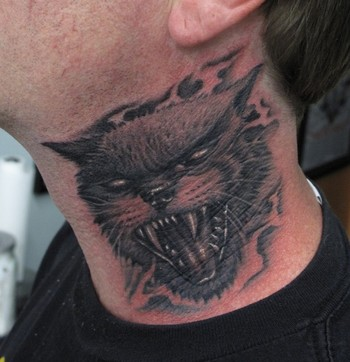 Tattoos - Evil cat - 47391