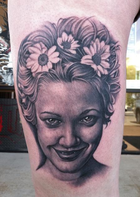 Tattoos - Drew Barrymore - 57090