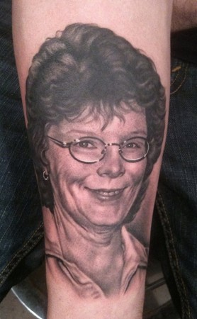 Tattoos - Portrait of mom - 47396