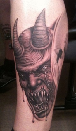 Tattoos - Demon - 47771