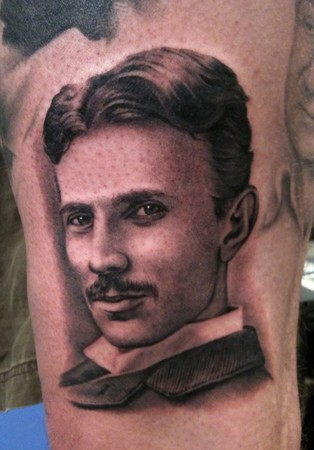 Tattoos - Nikola Tesla - 48370