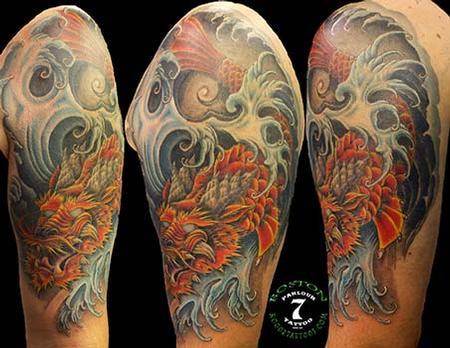 Tattoos - Koi Dragon tattoo - 89306