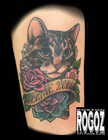 Tattoos - Bernie Sanders the Cat - 130631