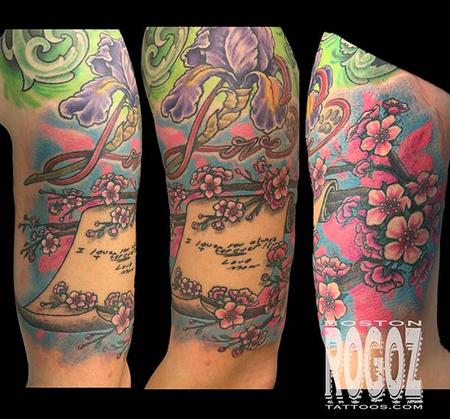 Tattoos - Cherry blossom tree - 112229