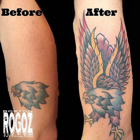 Tattoos - eagle tattoo - 119629