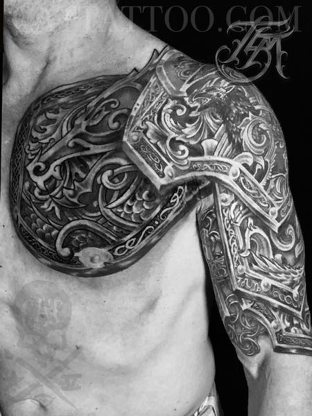 Terry Mayo - Freehand Armor