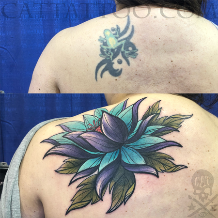 Kristel Oreto - Frog to Flower Coverup