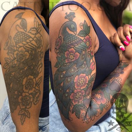 Kristel Oreto - Peacock Coverup