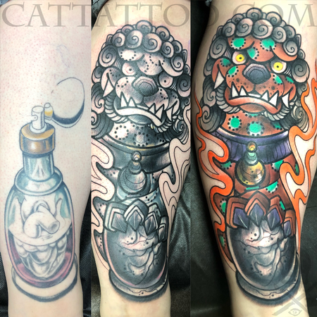 Kristel Oreto - New School Foo Dog Coverup