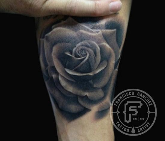 Tattoos - rose tattoo - 72706