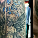 Tattoos - Angel Slaying Serpent - 127796