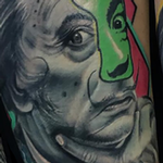 Salvador Dal� Tattoo Thumbnail