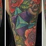 Tattoos - GeoFlower Sleeve - 127637