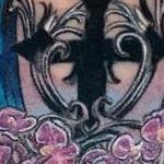 Gothic Memorial Coverup Tattoo Thumbnail