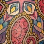 Paisley Mandala  Tattoo Thumbnail