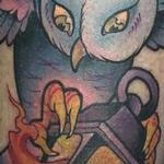 Tattoos - Owl - 125744