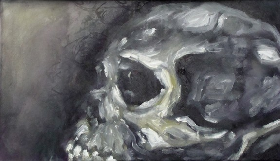 Tattoos - Oil Skull Study - 52316