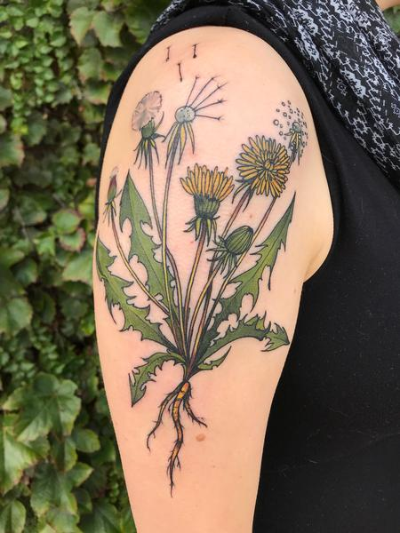 Tattoos - Dandelion  - 140848