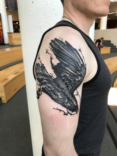 Tattoos - Black Raven  - 138691