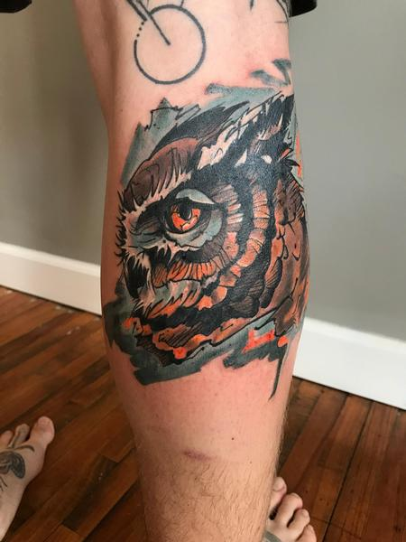 Tattoos - Owl  - 133500