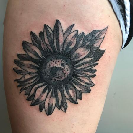 Tattoos -  Sunflower - 138693
