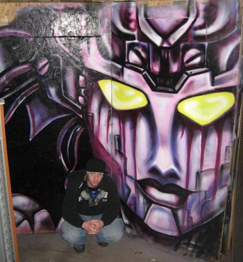 Tattoos - Arcee Graffiti - 43409