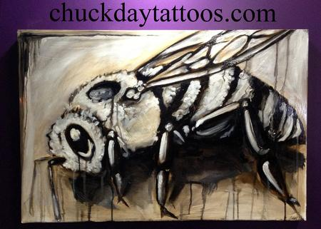 Tattoos - Bee Raw Umber - 75373