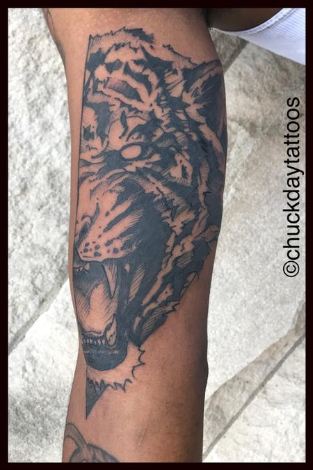Tattoos - Tiger Style - 129808