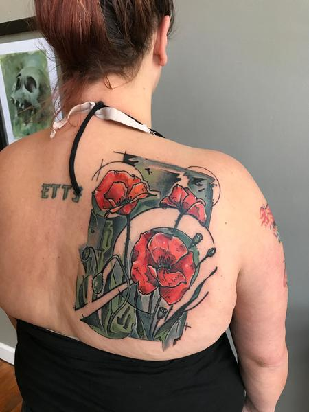 Tattoos - Poppies  - 131585