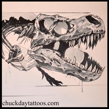 Tattoos - T. Rex detail - 98910